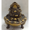 Chinese-Bronze-Buddhism-Wealth-YuanBao-Hoptoad-Toad-Statue